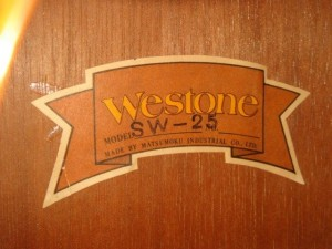 westone sw25-label